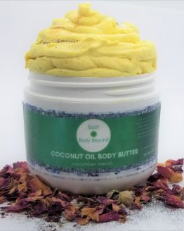 coconut oil whipped body butter bbb