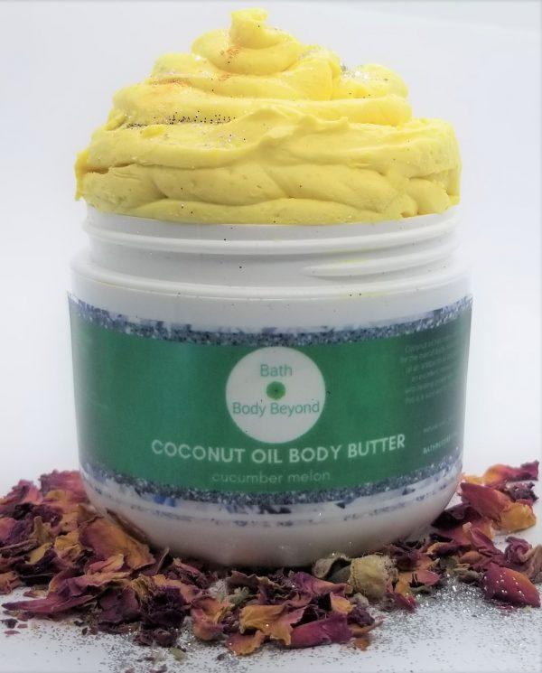 coconut oil whipped body butter bbb