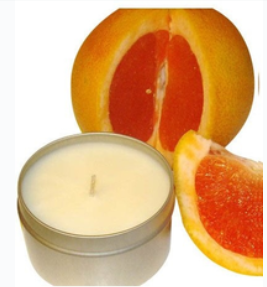 Scented Soy Massage Oil Candle